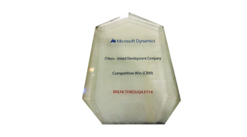 Microsoft Competitive Win award 2013