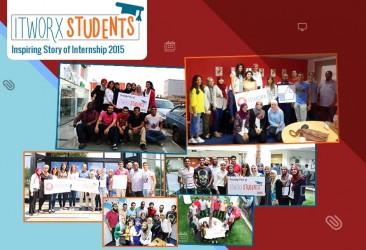 "ITWORX Students ""Inspiring Story of Internship 2015"""