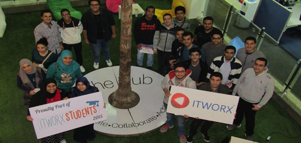Tour inside ITWORX – Mansoura University