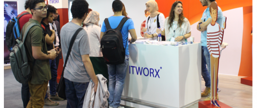 ITWORX participated in the GUC Annual Internship & Employment Fair'17