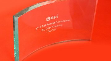 ITWORX Wins the 2017 ESRI's Partner Conference Global Award for Big Data Analytics