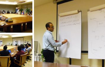 Data and Analytics session at AUC