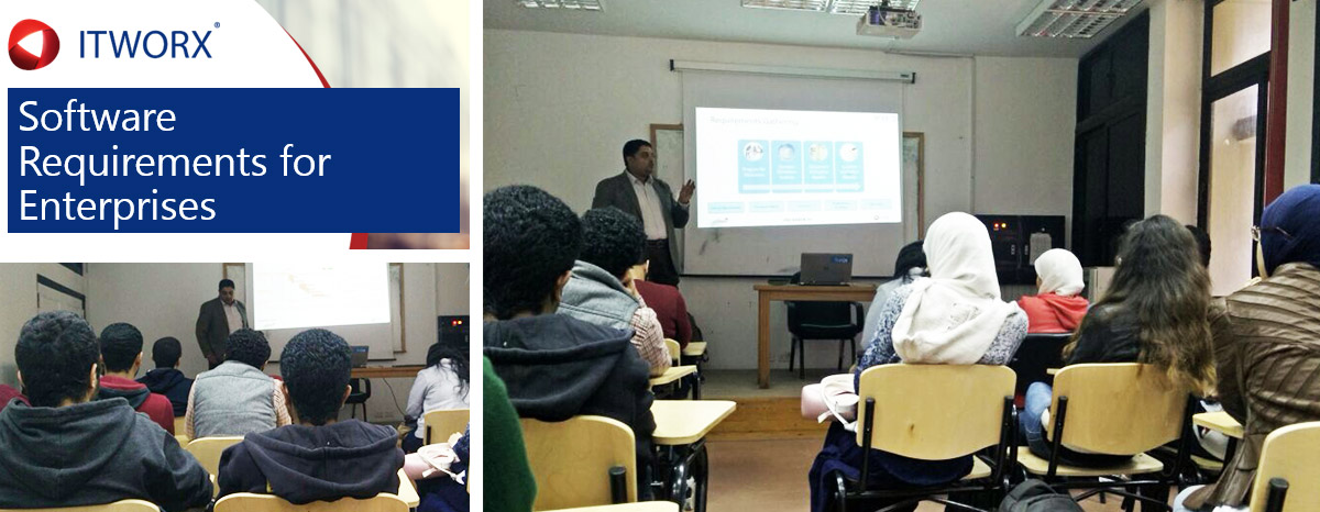 Software Requirements for Enterprises Session at Ain Shams University