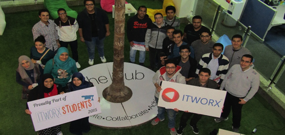 Tour inside ITWORX – Mansoura University